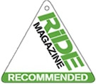 ride magazine recommended logo