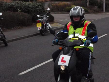 Out on the CBT road ride