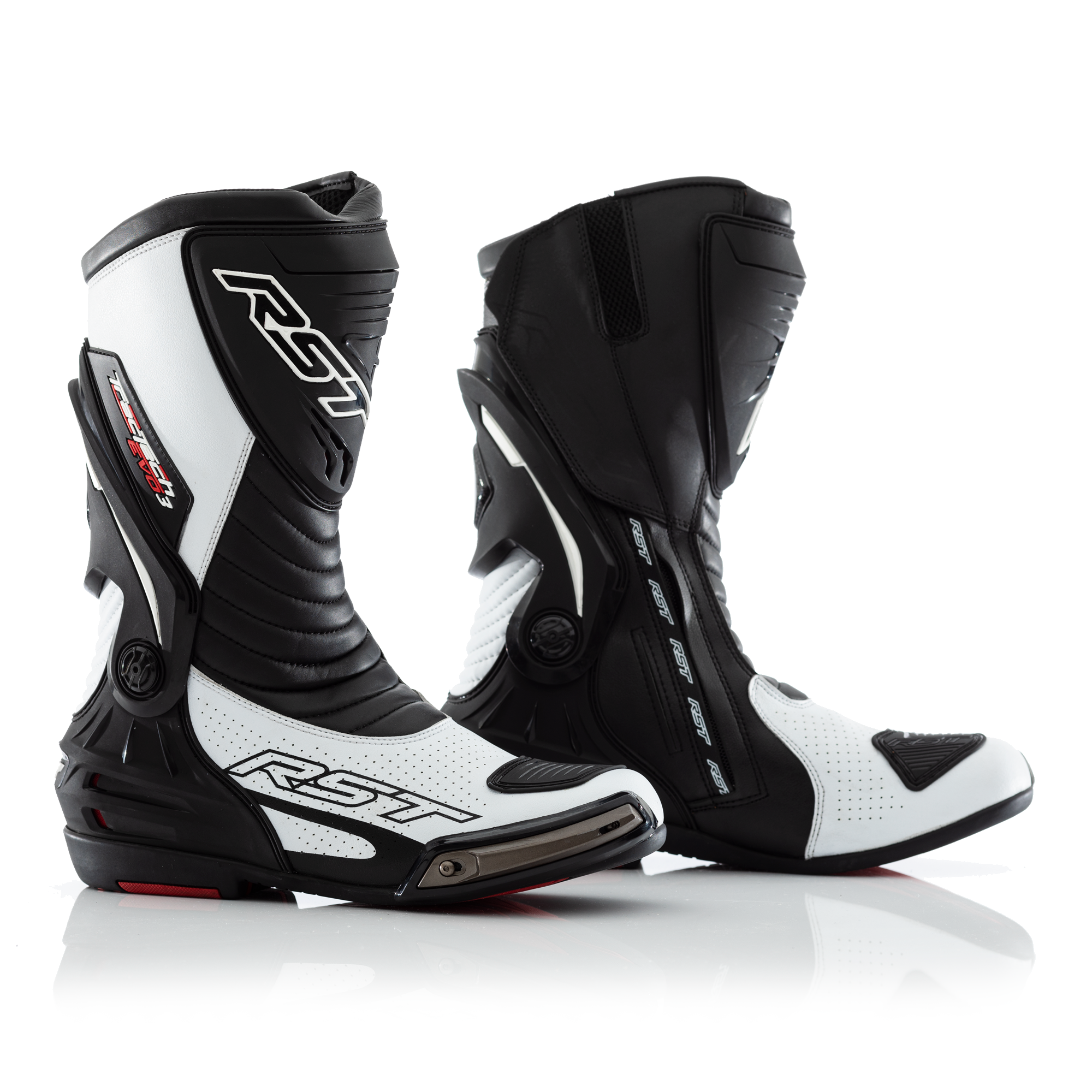 RST Tractech Evo 3 CE Boots White Black
