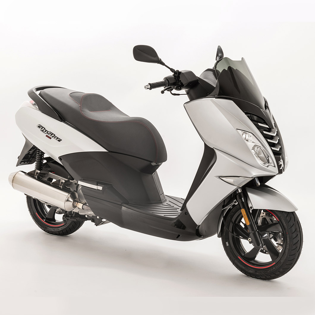 Peugeot Citystar RS 200cc ABS - Silver