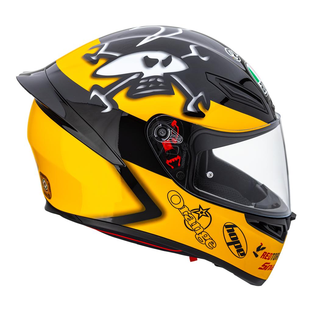 Agv K1 Guy Martin Full Face Helmets Free Uk Delivery