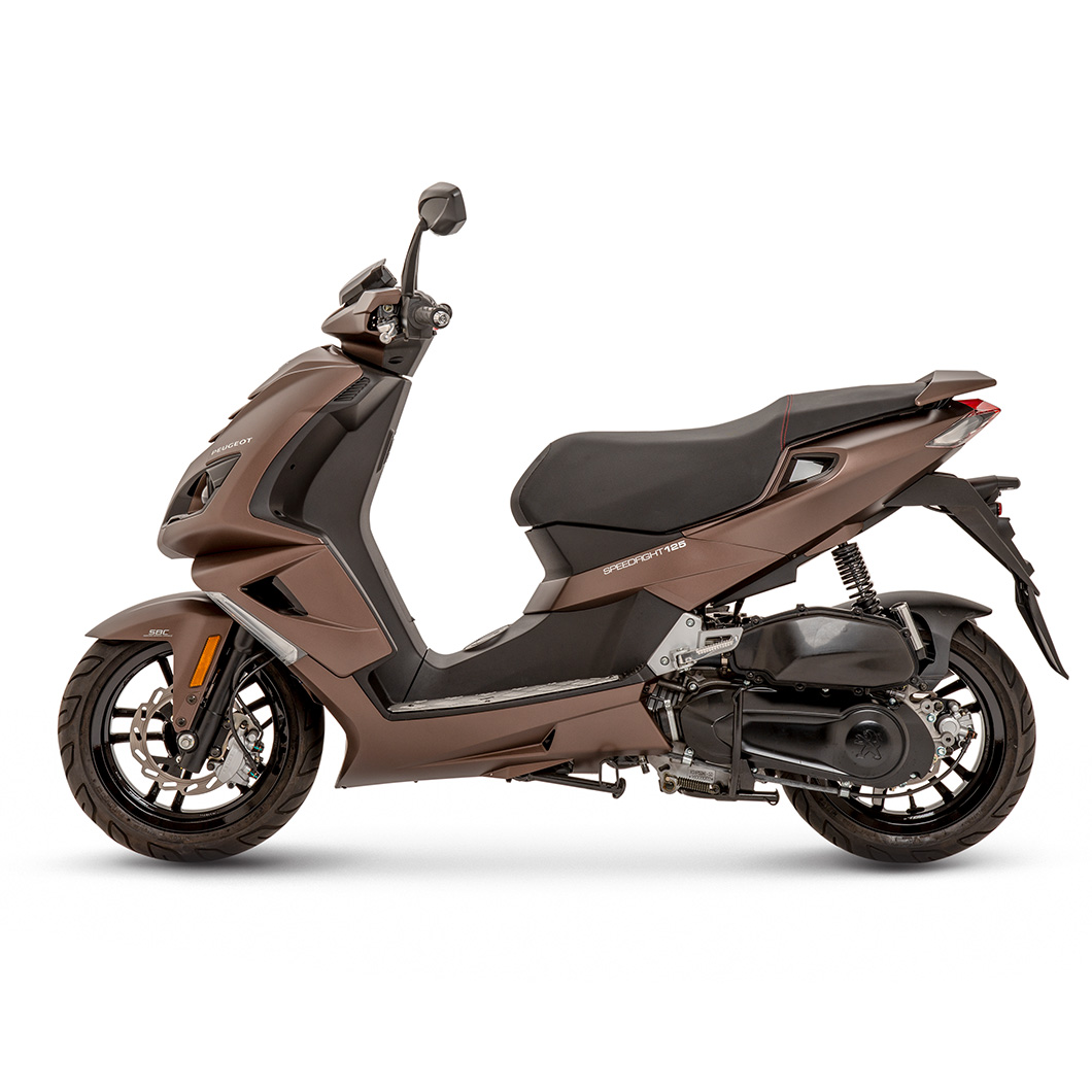 peugeot speedfight 4 125cc satin chocolate peugeot scooters uk nottingham. Black Bedroom Furniture Sets. Home Design Ideas