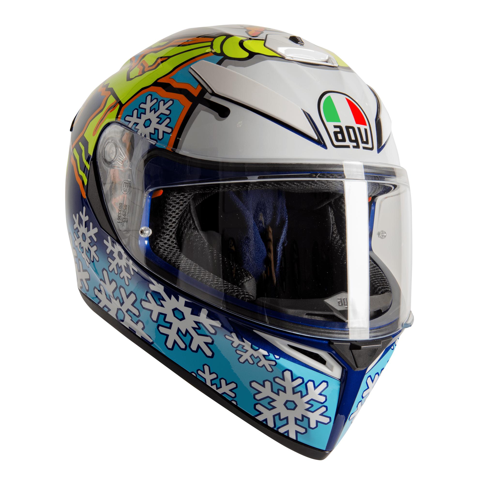 Agv K3 Sv S Winter Test Agv Full Face Helmets Free Uk Delivery