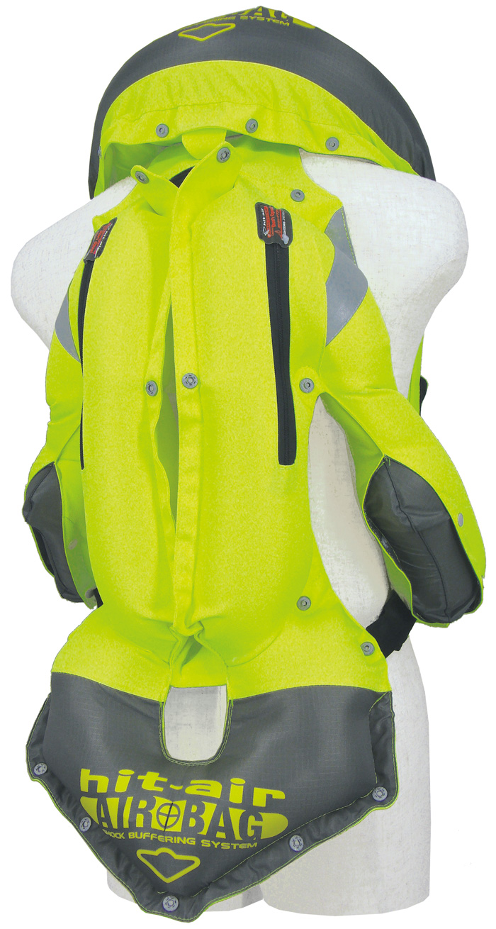 hit air mlv yc hi vis airbag vest free uk delivery. Black Bedroom Furniture Sets. Home Design Ideas