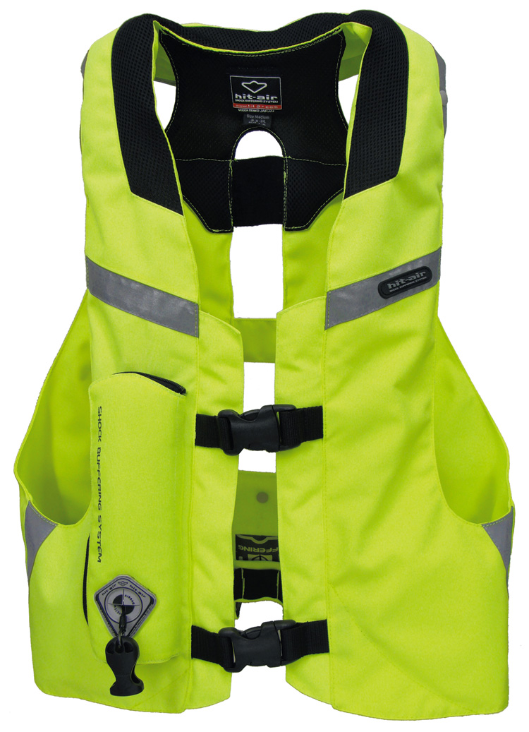 hit air mlv yc hi vis airbag vest free uk delivery. Black Bedroom Furniture Sets. Home Design Ideas