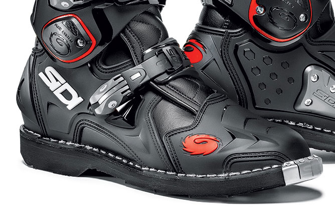 sidi crossfire 2 boots black sidi motocross boots free uk delivery. Black Bedroom Furniture Sets. Home Design Ideas