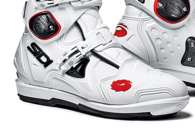 sidi crossfire 2 srs boots white free uk delivery. Black Bedroom Furniture Sets. Home Design Ideas