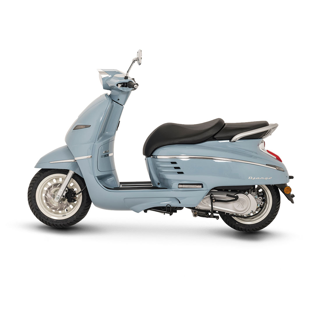 peugeot django heritage 150cc blue peugeot scooters uk nottingham. Black Bedroom Furniture Sets. Home Design Ideas