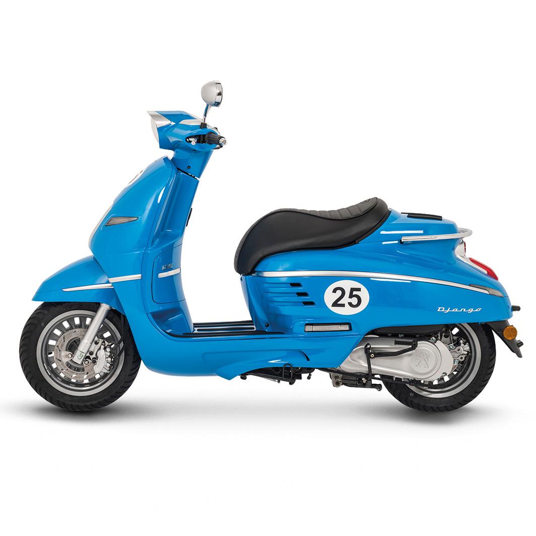 peugeot django sport 125cc bleu france peugeot scooters uk notts. Black Bedroom Furniture Sets. Home Design Ideas