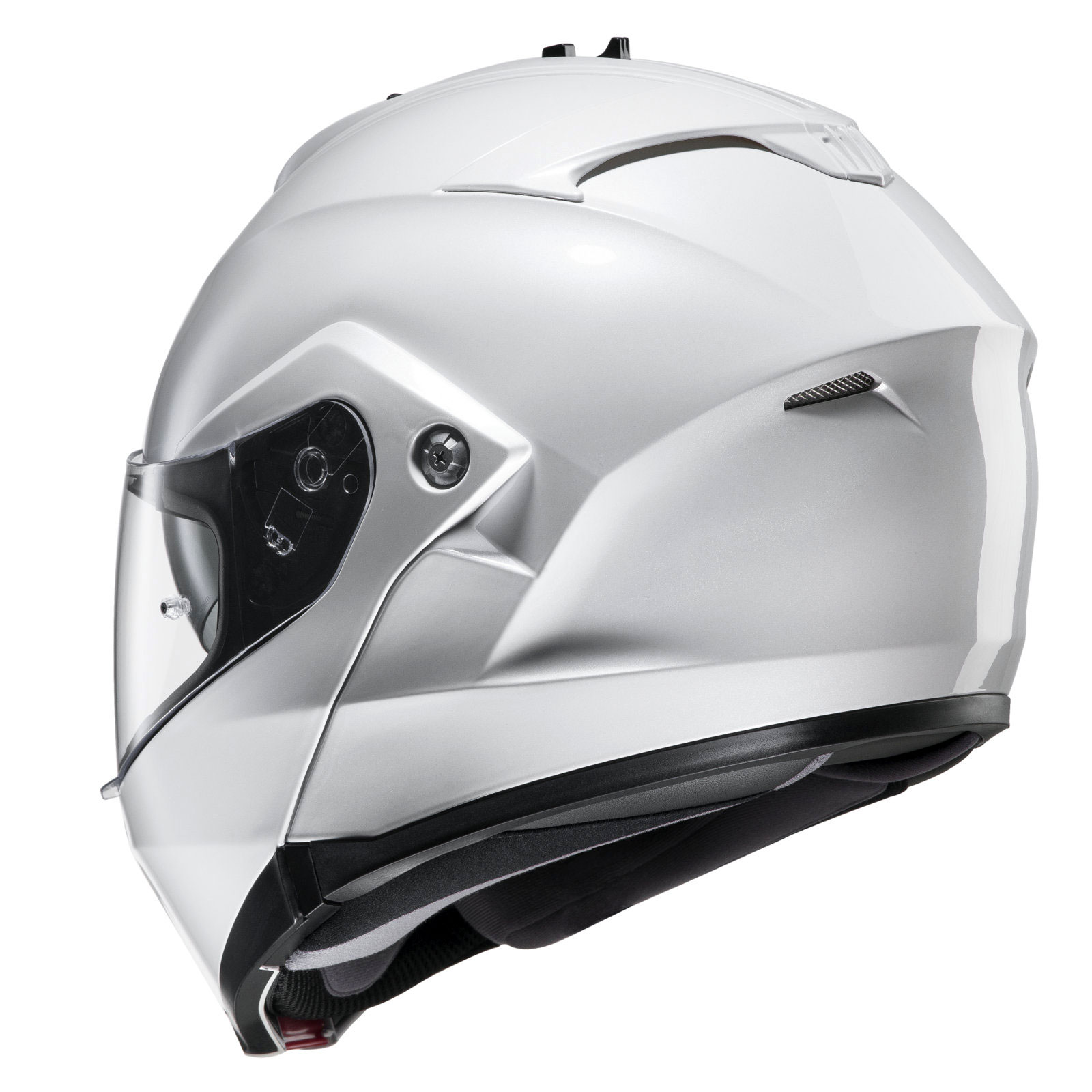 Hjc Is Max 2 White Hjc Flip Front Helmets Free Uk Delivery