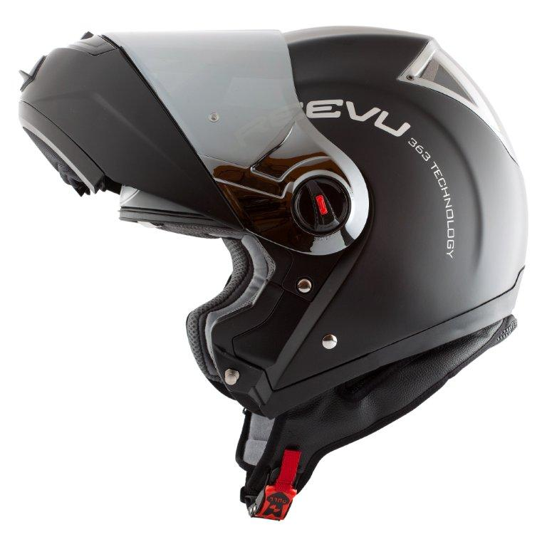 Reevu Fsx1 Matt Black Reevu Helmets Free Uk Delivery