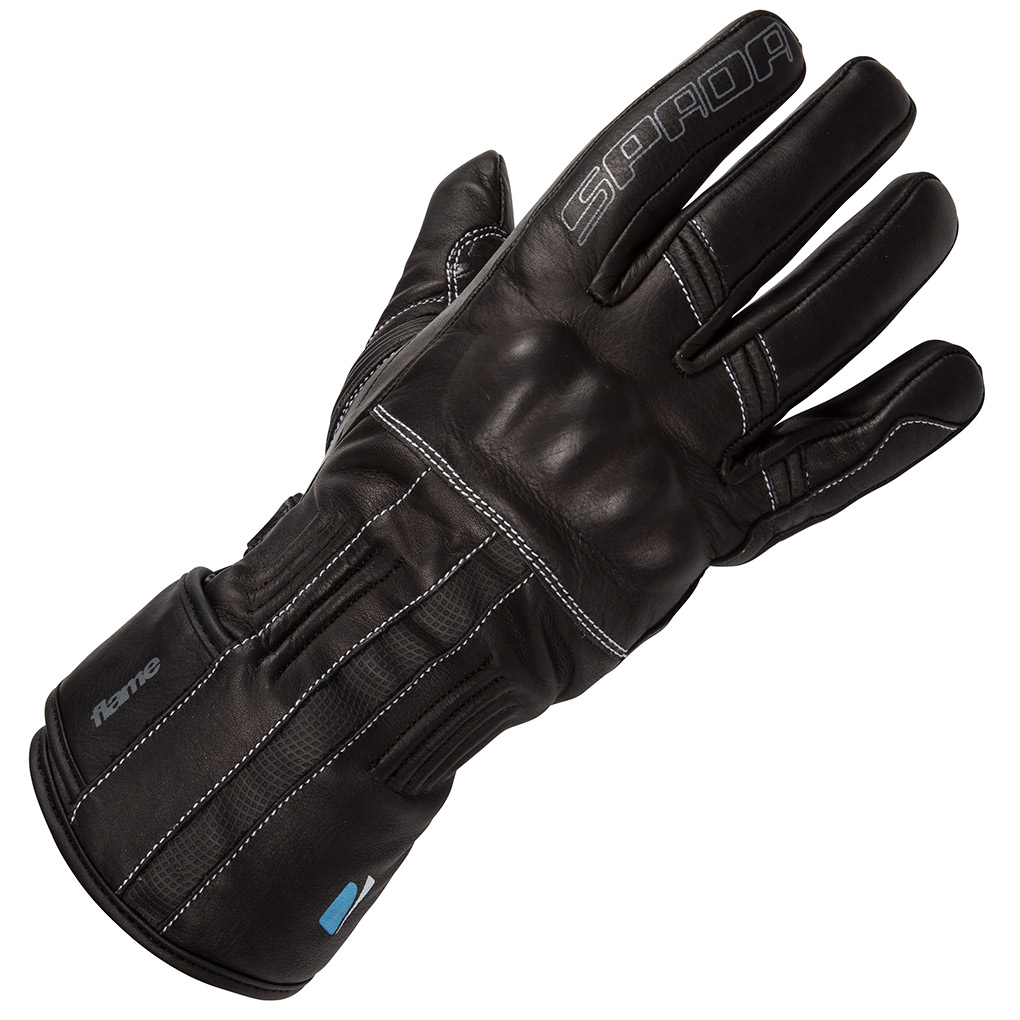 Ladies leather golf gloves uk - Spada Flame Ladies Leather Gloves Front View