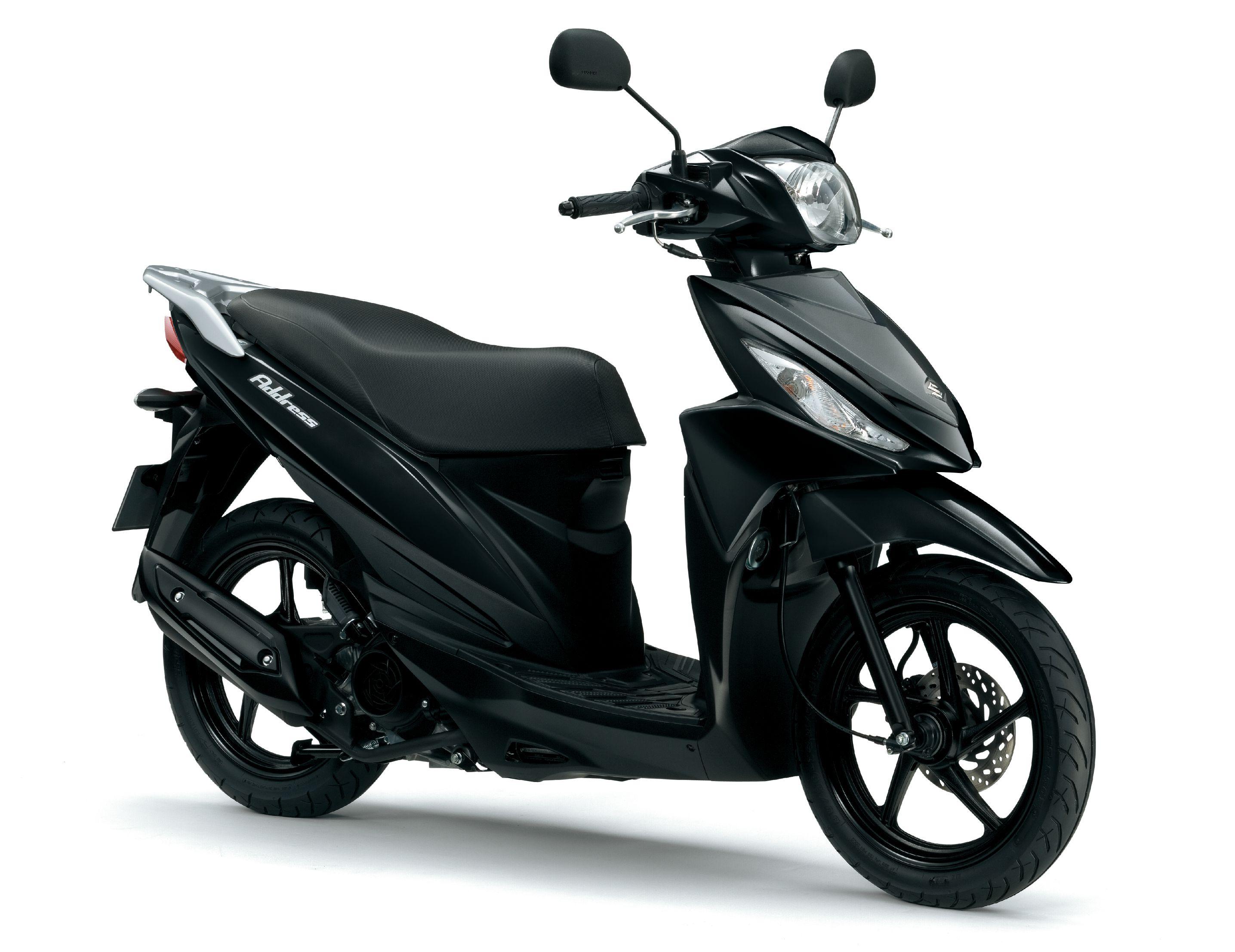 Suzuki Address 110 Black