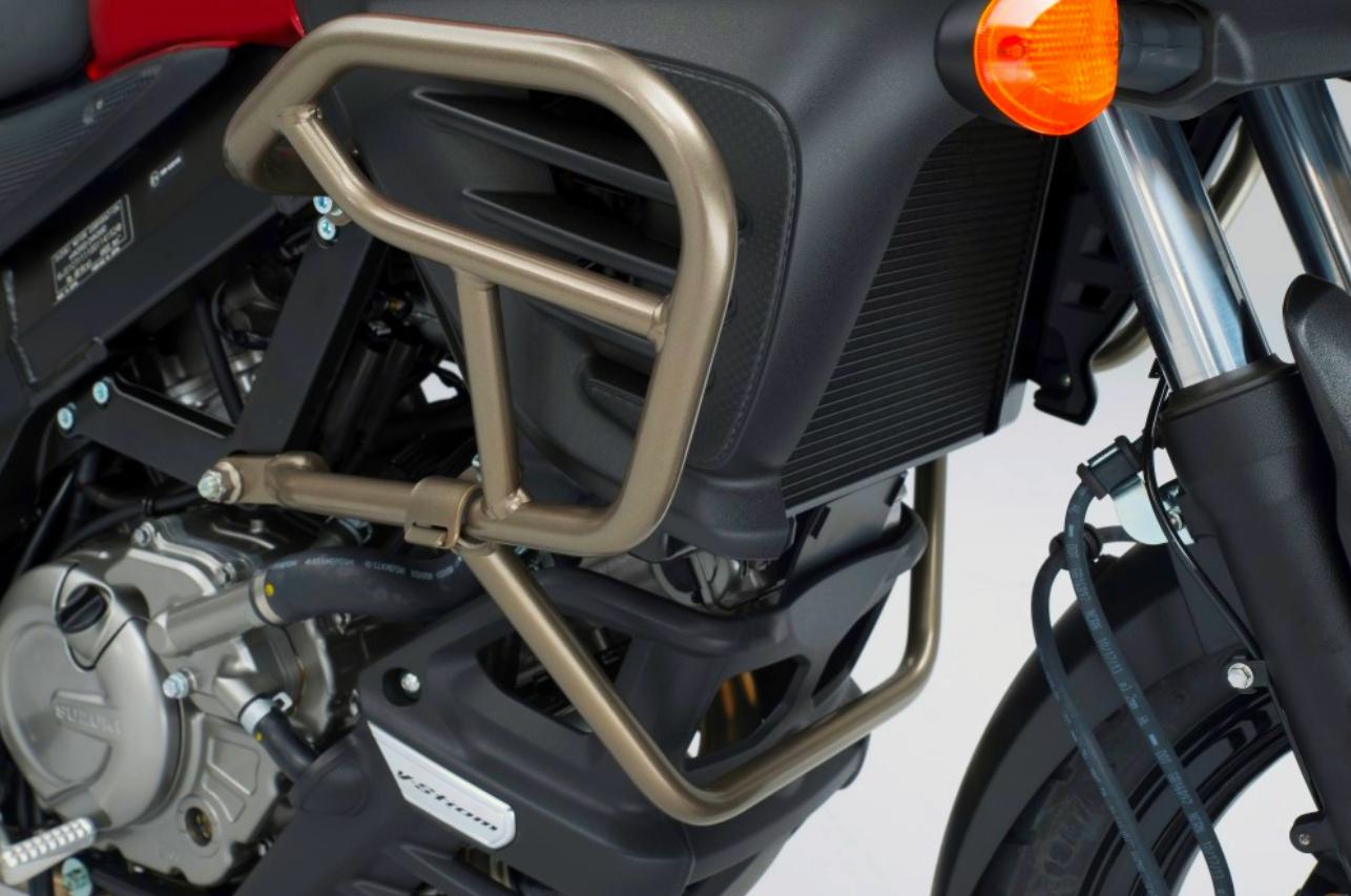 suzuki v-strom 650 abs accessory bar   suzuki genuine accessories