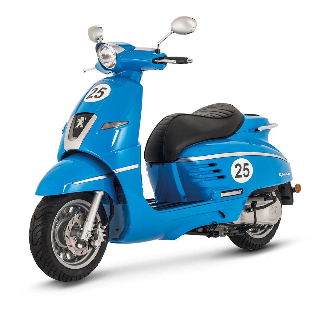 peugeot django sport 50cc blue peugeot scooters uk. Black Bedroom Furniture Sets. Home Design Ideas