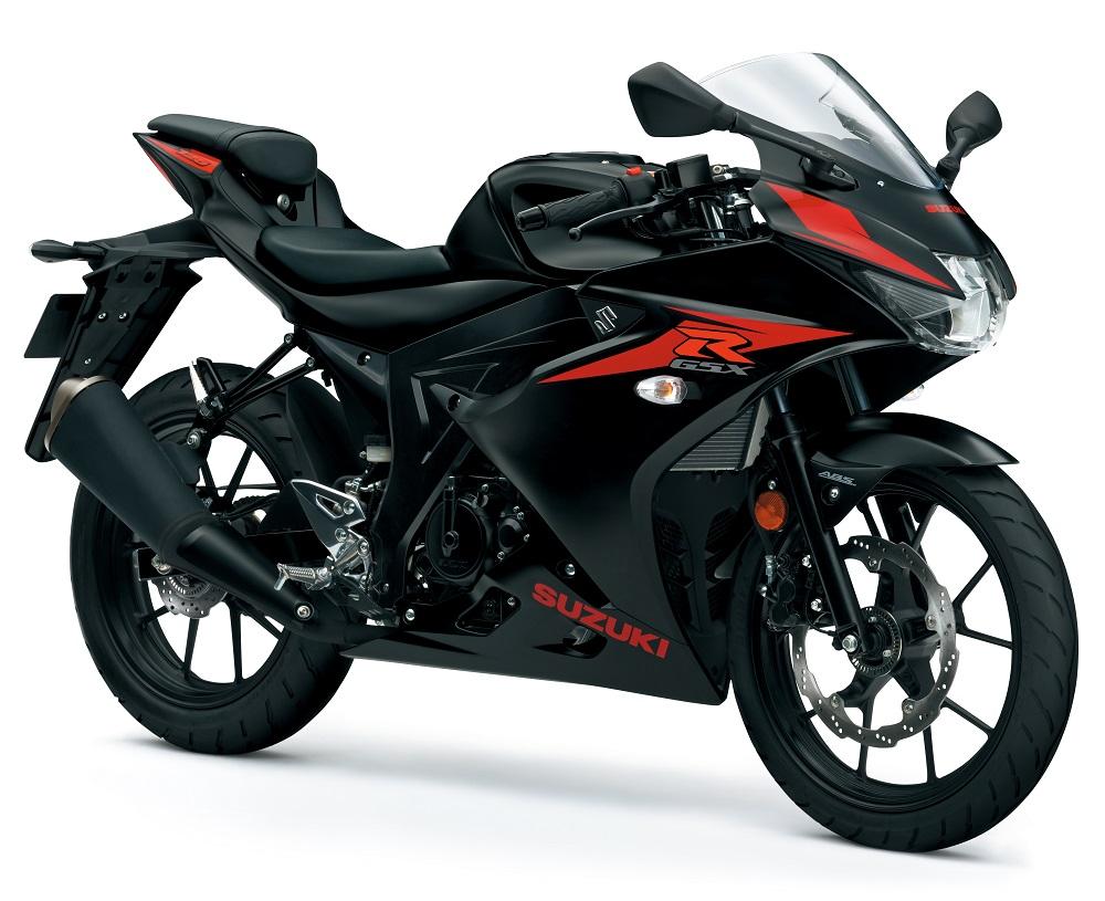 suzuki gsx r125 black new suzuki bikes nottingham. Black Bedroom Furniture Sets. Home Design Ideas