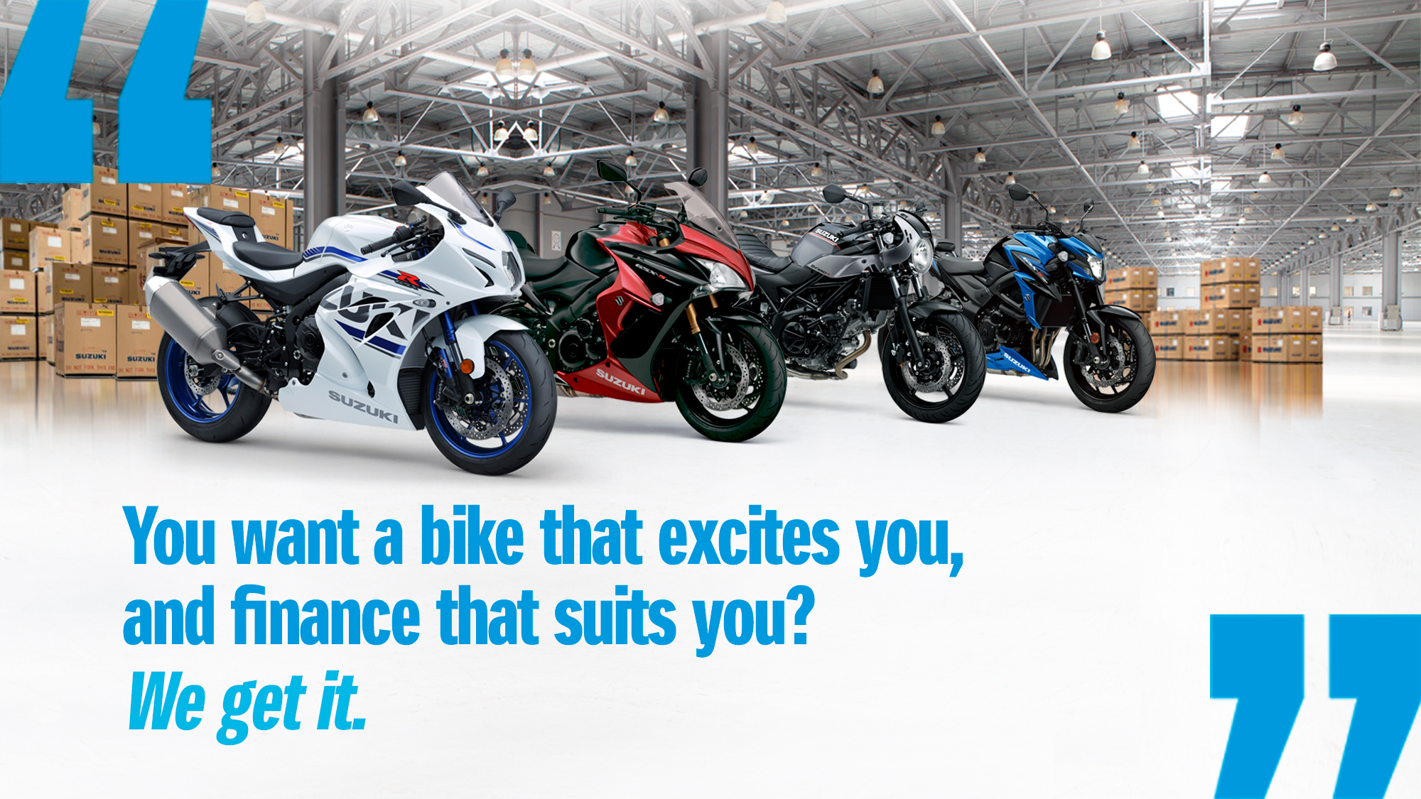 Suzuki 2%, 3%, 4% APR Finance Promotion