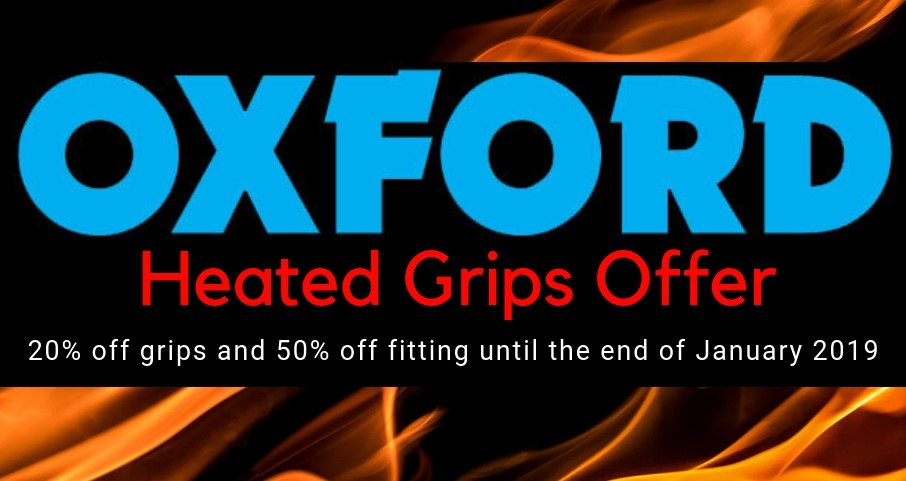 Oxford Heated Grips Offer at Two Wheel Centre