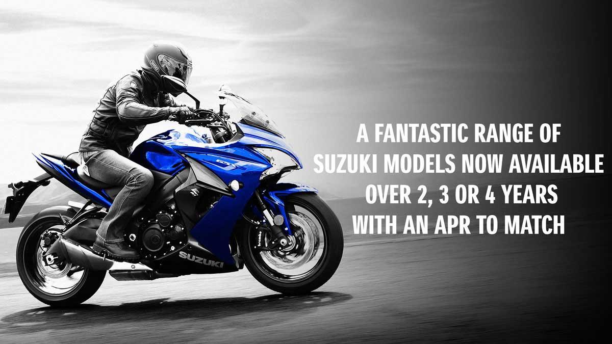 Suzuki Low Rate Finance Offers   Suzuki Motorcycles