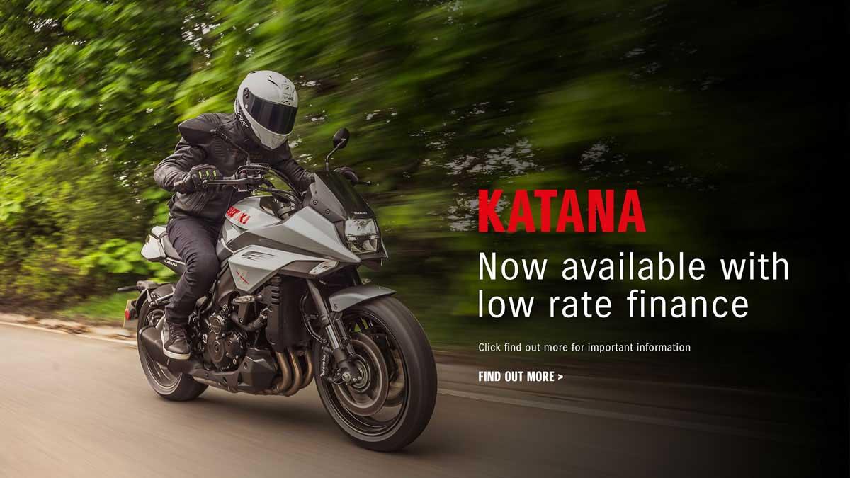Suzuki Katana Low Rate Finance Offer