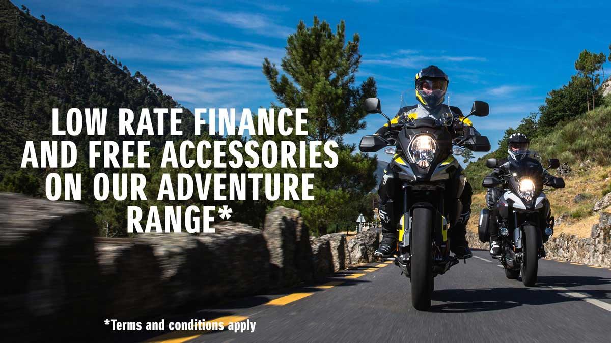 Suzuki V-Strom Accessories Offer