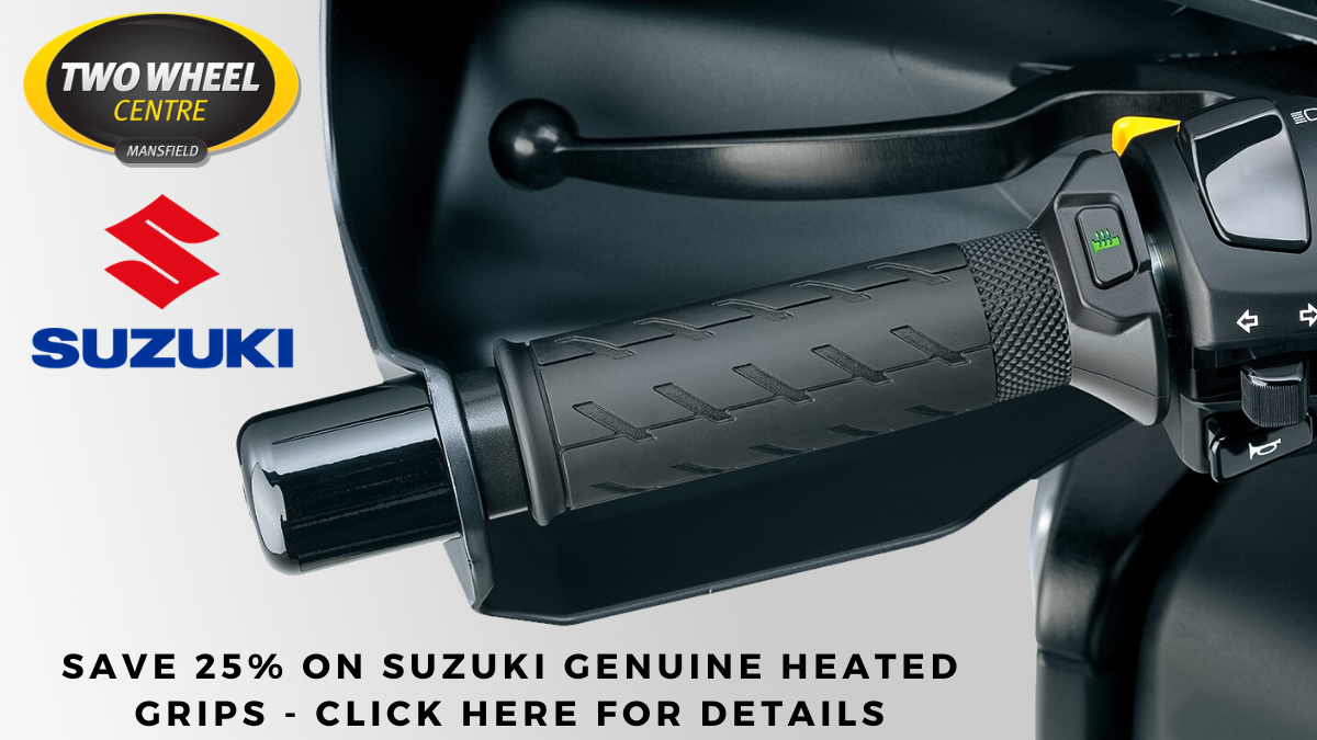 25% Off Suzuki Heated Grips Offer