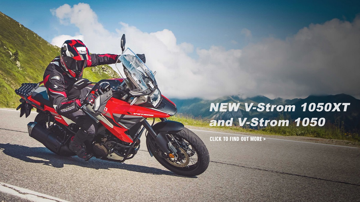 New V-Strom 1050 Available Spring 2020