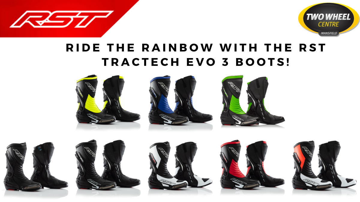 RST Tractech Evo 3 Boots - Available at Two Wheel Centre Mansfield