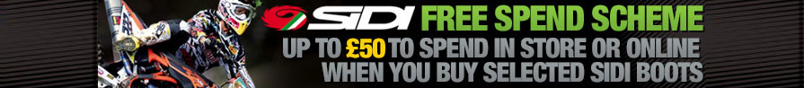 Sidi Boots UK Future Spend Offer