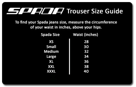 Spada turini textile trousers black | free uk delivery.