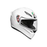 AGV K1 White Motorcycle Helmet