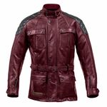 Spada Berliner Leather Motorcycle Jacket - Oxblood