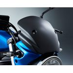 Suzuki SV650 Meter Visor Fly Screen Black