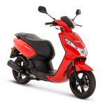 Peugeot Kisbee 50cc - Euro 4 - Red