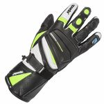 Spada Latour Vented Summer Gloves - Black / Flo