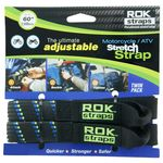 ROK Straps -  Motorcycle / ATV Stretch Straps
