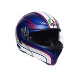 AGV Compact-ST Boston Blue White Red Flip Front Helmet