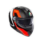 AGV Sport Modular - Sharp - Carbon / Red / White