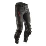 RST GT CE Leather Trousers - Black / Red