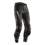 RST GT CE Leather Trousers - Black / White
