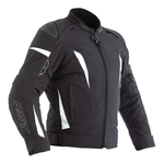 RST GT Ladies CE Textile Jacket - Black / White