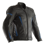 RST GT CE Leather Jacket - Black / Blue