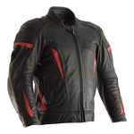 RST GT CE Leather Jacket - Black / Red