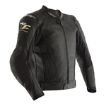 RST Isle Of Man TT Grandstand CE Leather Jacket - Black