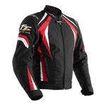 RST Isle Of Man TT Grandstand CE Textile Jacket - Black / Red