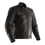 RST Isle Of Man TT Hillberry Leather Jacket - Black