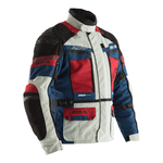 RST Pro Series Adventure 3 CE Textile Jacket - Ice / Blue / Red