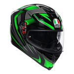 AGV K5-S Hurricane 2.0 - Black / Green