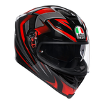 AGV K5-S Hurricane 2.0 - Black / Red