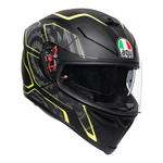 AGV K5-S Tornado - Black / Yellow